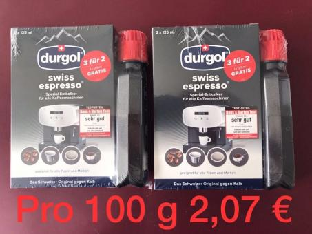 DURGOL SPARPAKET ENTKALKER 2 X 3 FÜR 2
